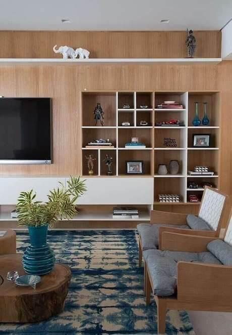 Nichos para sala de estar planejada