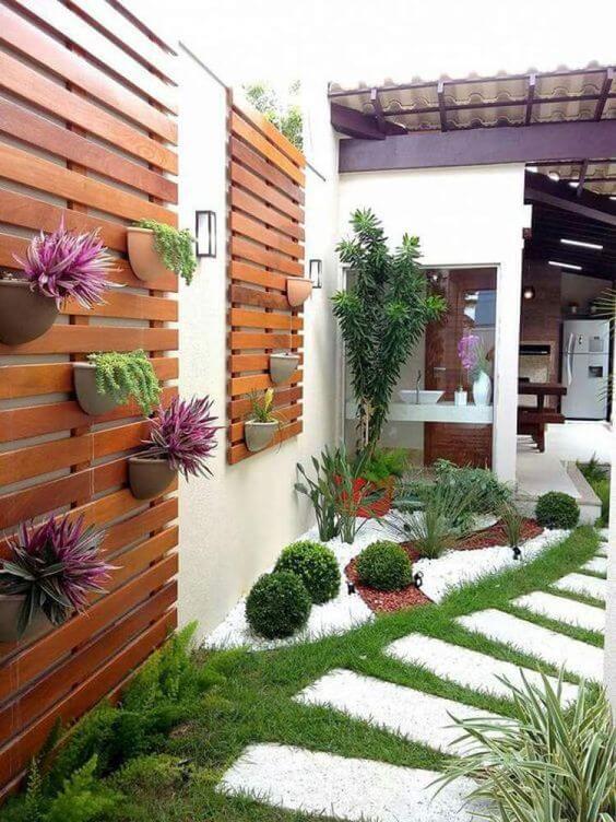 Plantas para jardim de inverno com jardim vertical