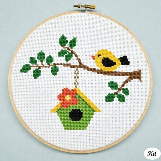 Decore sua casa com bordados simples e lindos