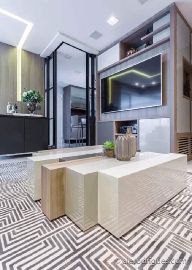 porta de ferro para sala e cozinha Foto Wood Save