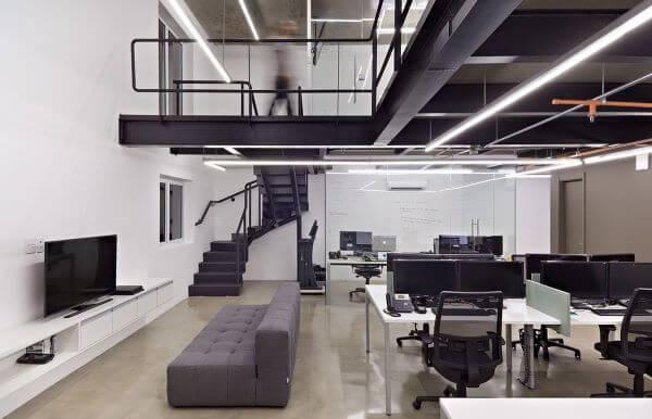 Sofá para escritório moderno