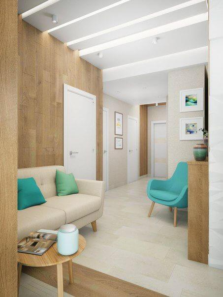 Sofá para escritório pequeno