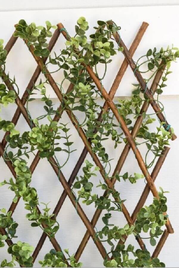 tipos de treliças de madeira para jardim vertical Foto Home Decorative Accents