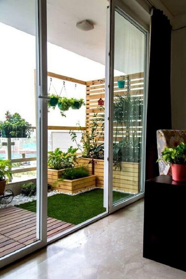 tipos de treliças de madeira para varanda Foto DecorHolic