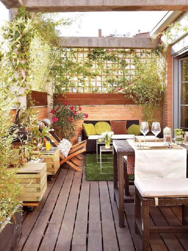 tipos de treliças de madeira para varanda rústica Foto Ideas Perfectas