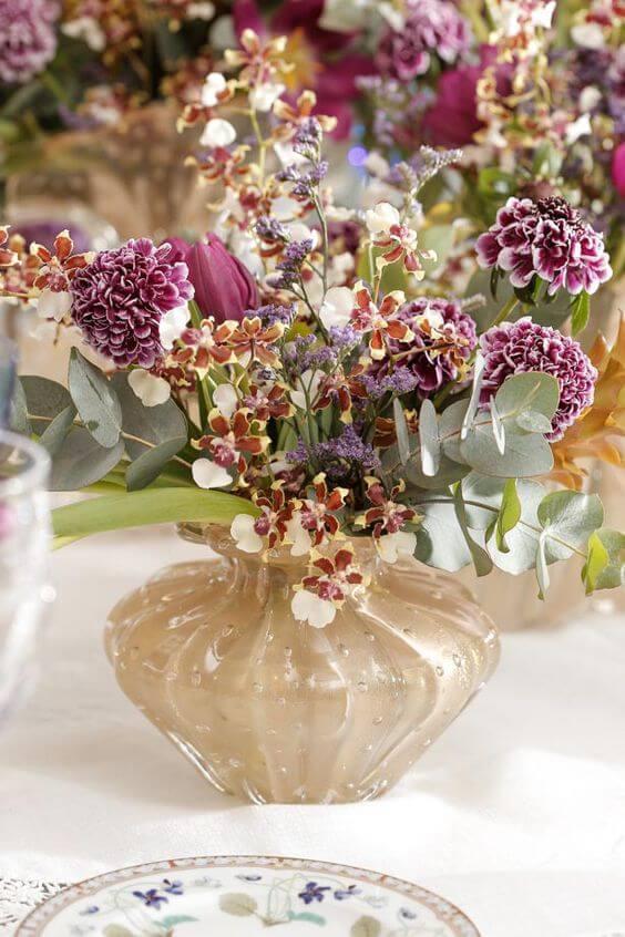 Vaso murano para flores