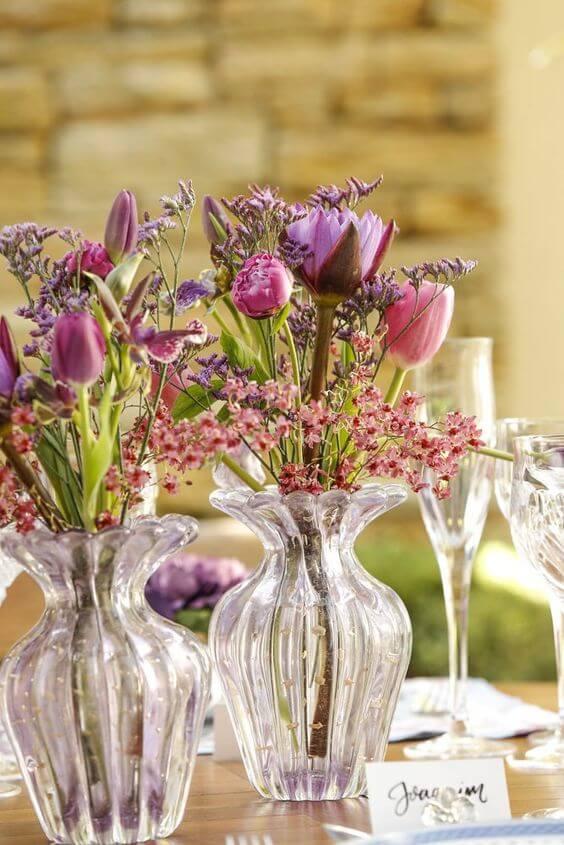 Vaso murano rosa