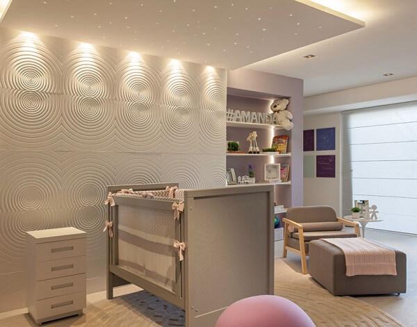 A cerâmica para quarto de bebê imprime um toque clássico no cômodo