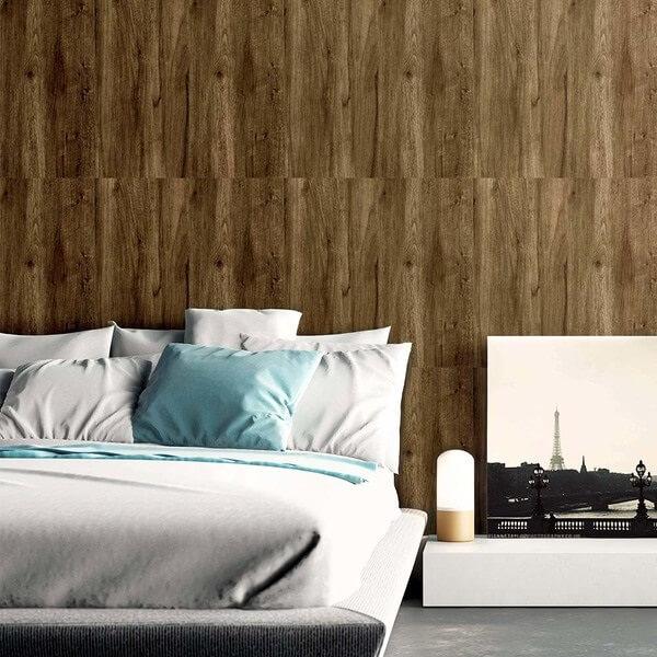 Cerâmica para quarto imitando madeira