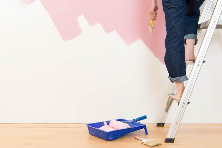 Como pintar parede capa