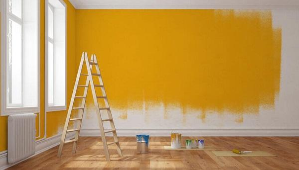 Como pintar parede escada e materiais vix