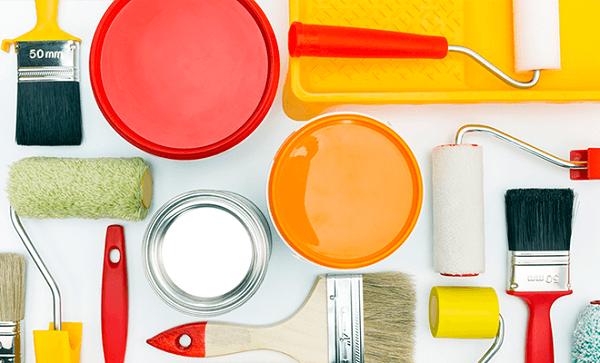 Como pintar parede materiais de pintura