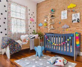 Confira dicas de decoração de quarto de bebê e crie um ambiente especial. Fonte: Mooui
