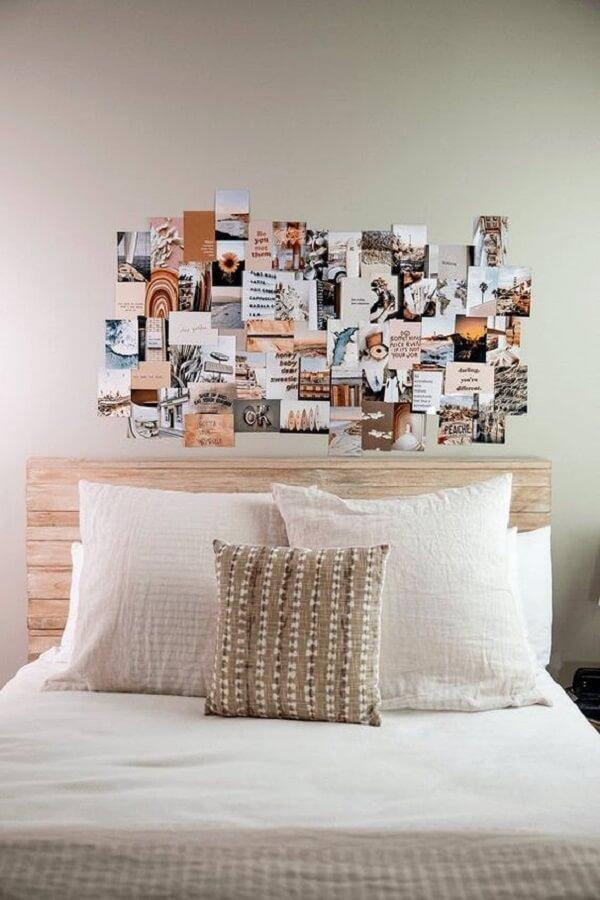 Decore o quarto de forma criativa e barata. Fonte: Etsy