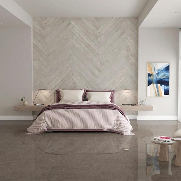 Escolha a cor de cerâmica para quarto que mais se adapta a sua decoração