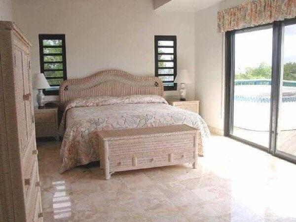 Modelo de piso cerâmico para quarto