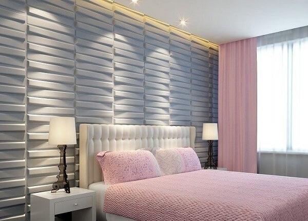 Traga alegria para o cômodo incluindo uma cor de cerâmica para quarto diferente