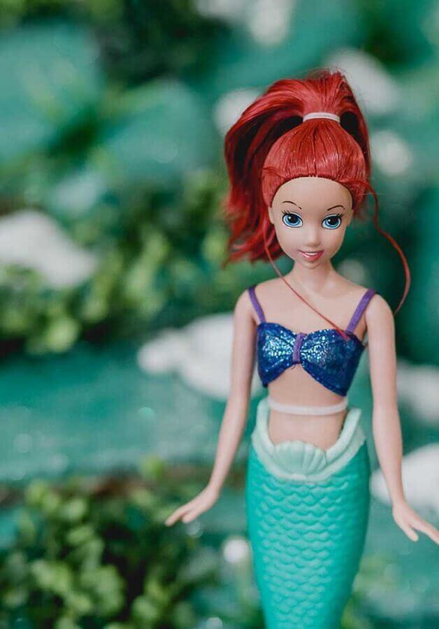 boneca para decoração festa sereia  Foto Ideias Decor
