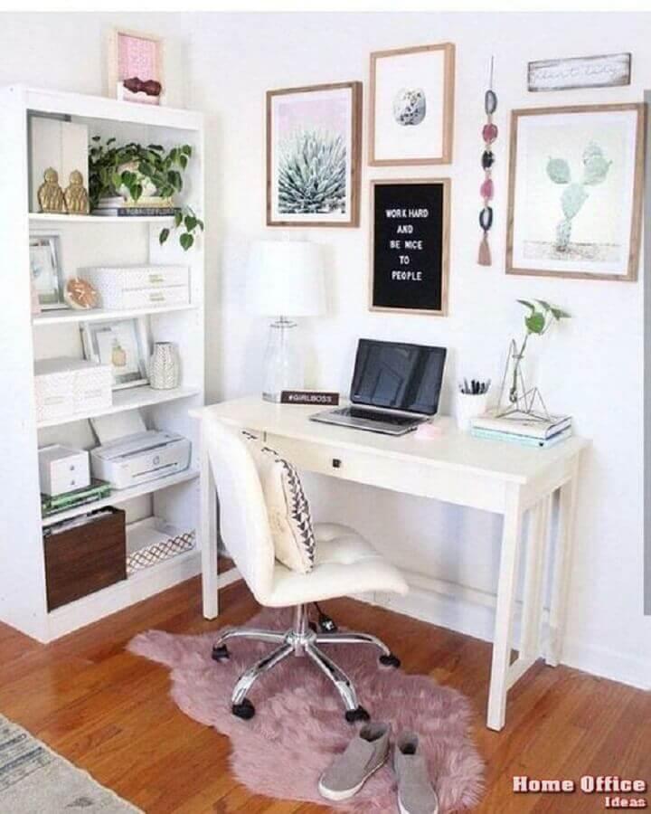 cadeira home office simples e pequeno Foto Melissa Pridgen