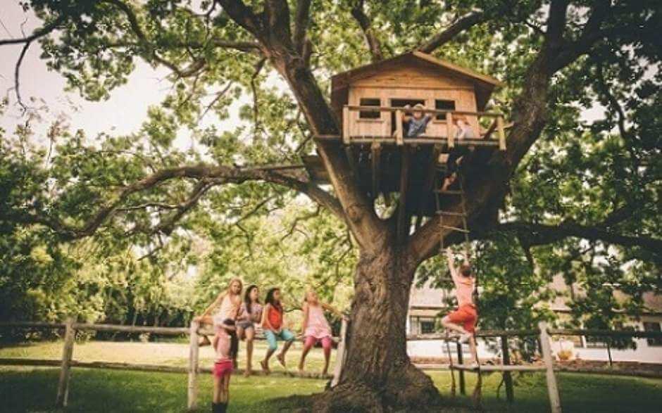 Muitas crianças sonham em ter esse tipo de casa