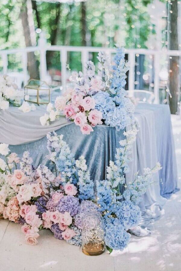 wedding colours with delicate pastel decoration Foto Decor Life Style