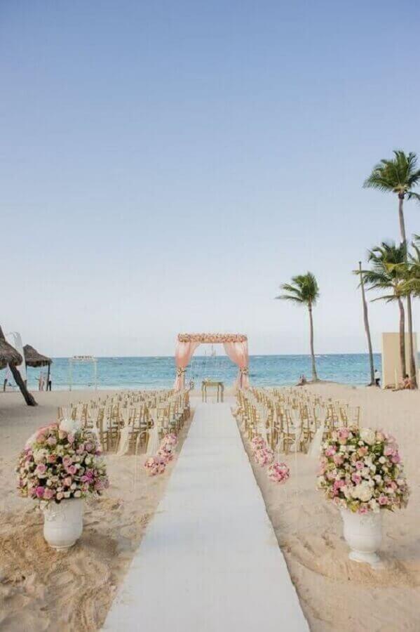 cores para casamento na praia Foto Revista VD
