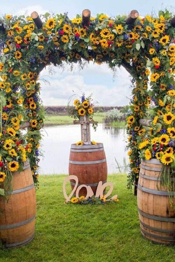 cores para casamento no campo Foto Doce Vida Interior