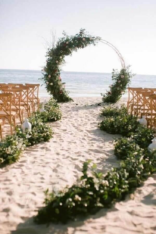 cores para casamento simples na praia Foto Pinterest