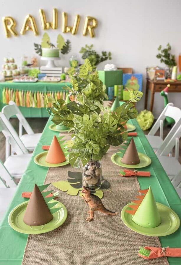 dinosaur decoration simple children's party Photo House and Party