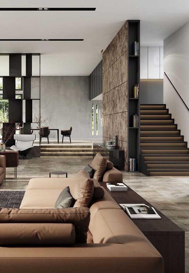decoração moderna para casas de luxo por dentro Foto Ideias Decor