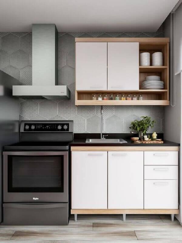 decoração simples para cozinha pequena Foto Juliana Lima