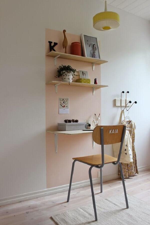 ideia para home office simples Foto Lili in Wonderland
