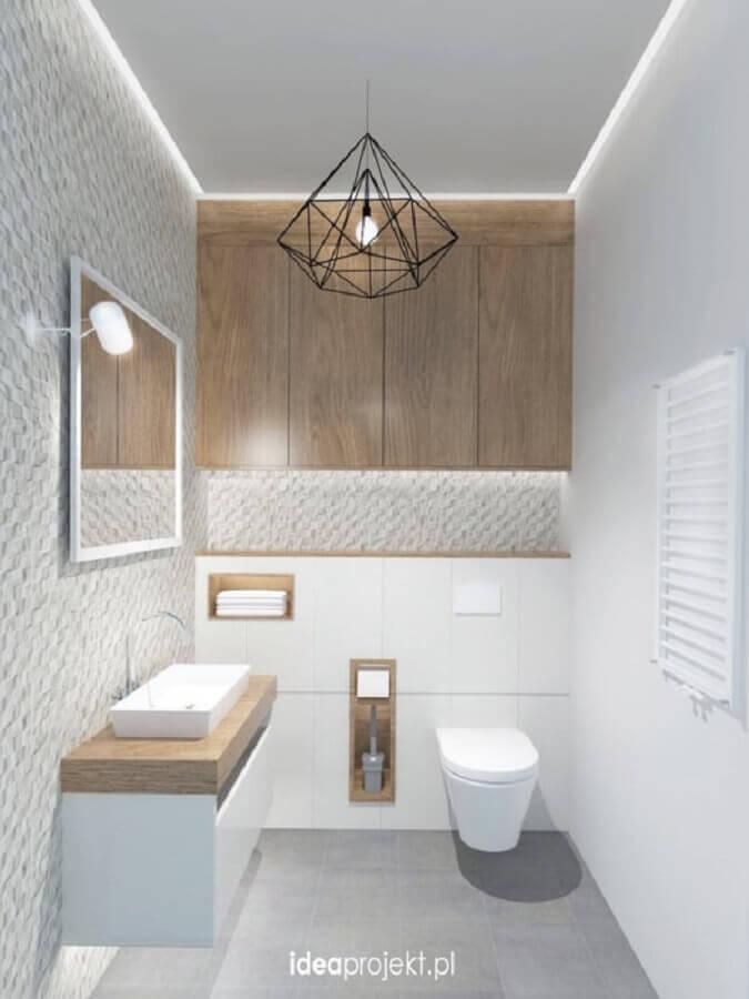 lustre pendente para banheiro moderno Foto Archilovers