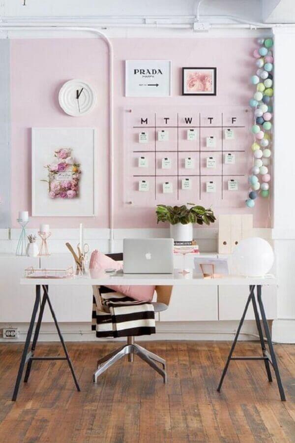 mesa home office feminino Foto Etsy
