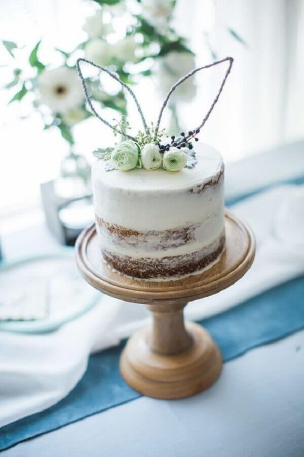 modelo de bolo de páscoa naked cake Foto Pretty My Party