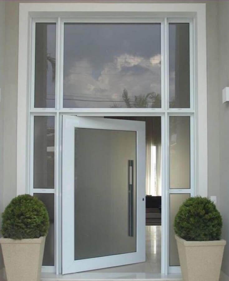 modelo grande de porta para sala Foto VRL Empreendimentos