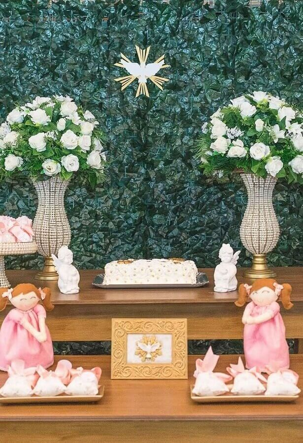 foliage panel for decoration of christening party Foto Pinterest