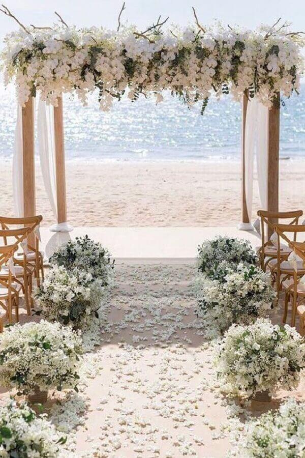 paleta de cores para casamento na praia Foto Wedding Forward
