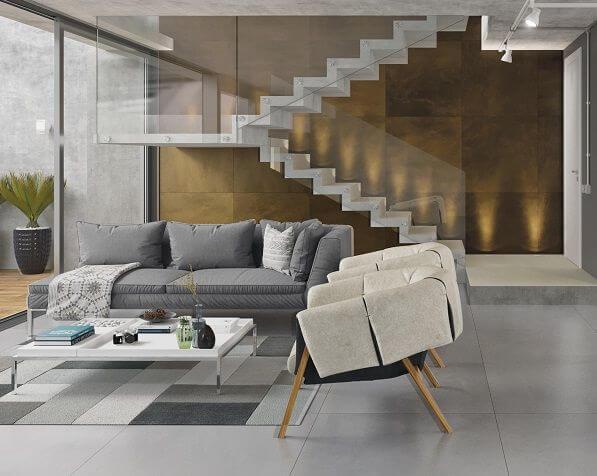 Porcelanato moderno para casa elegante