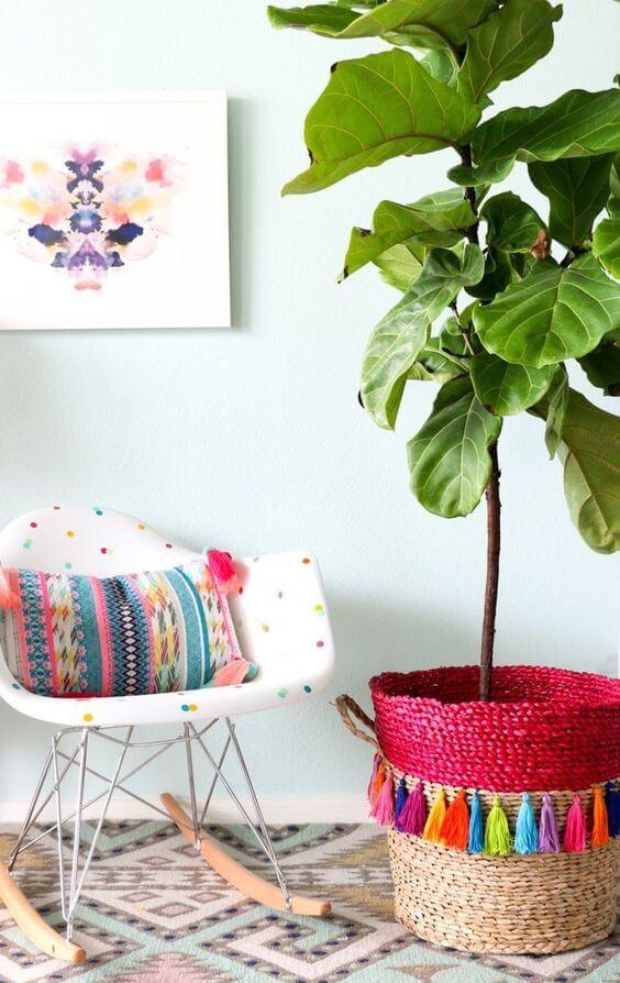Poltronas balanço colorida super confortáveis