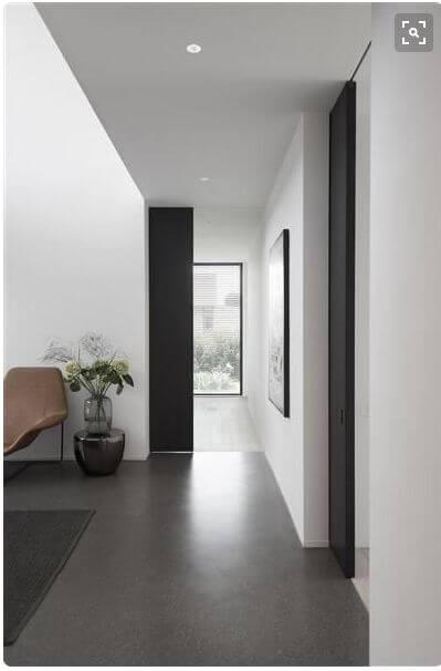 porcelanato cinza escuro
