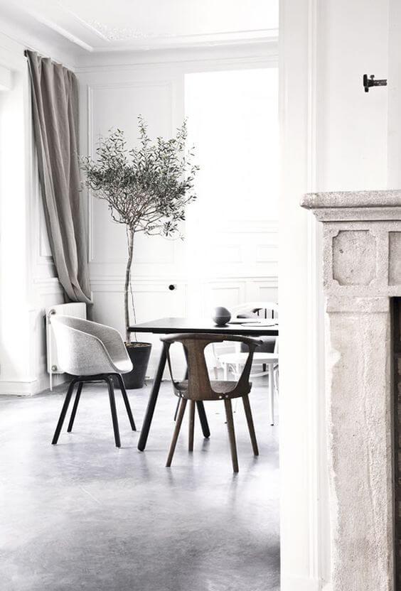Que tal ter uma sala de jantar ainda mais bonita com porcelanatos cinza