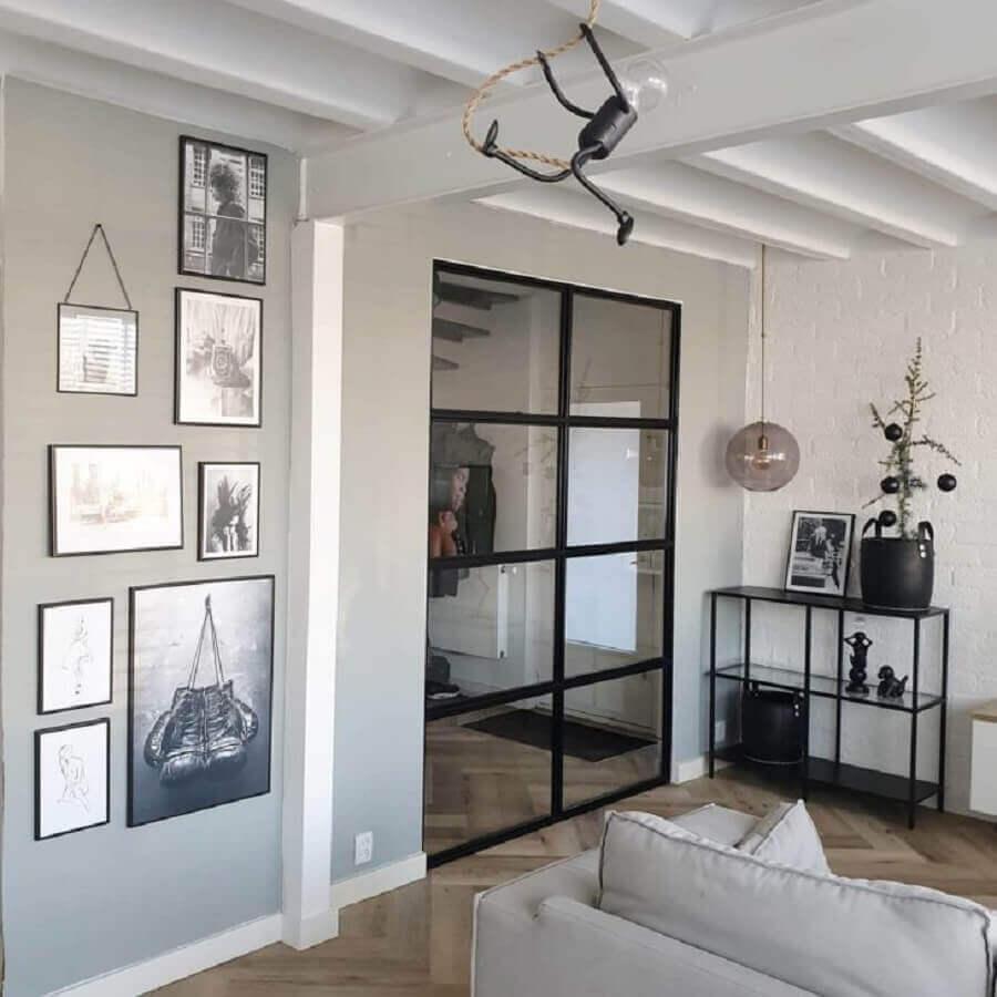 porta de vidro para sala moderna e minimalista Foto Interior & Styling