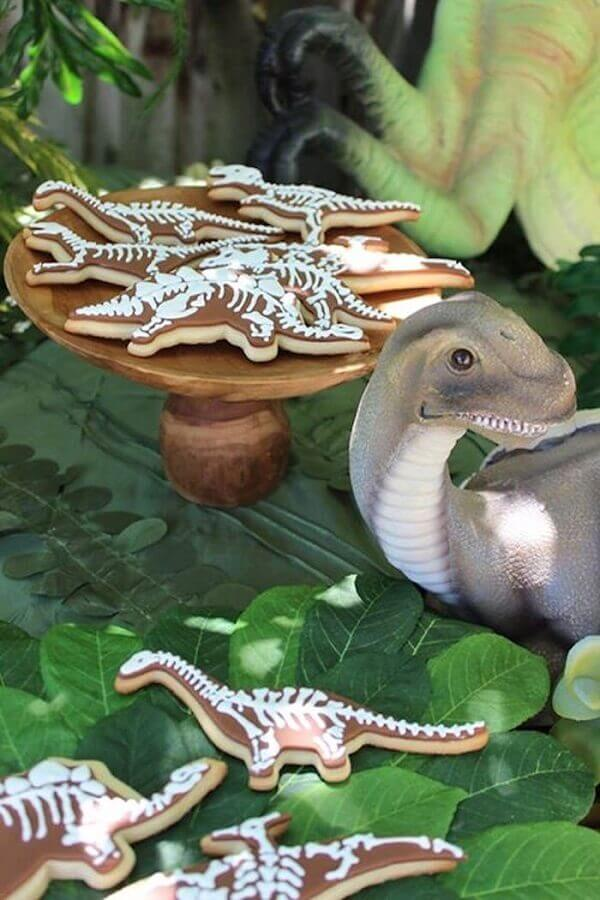 Dinosaur party custom candy dish Foto Tatu Bola Sustainable Parties