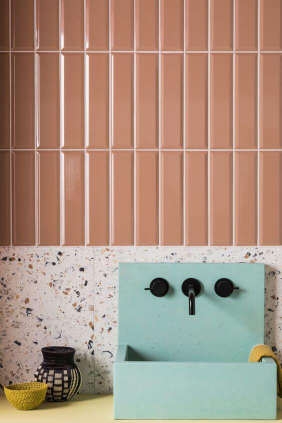 Escolha uma cor que combine com seu ambiente
