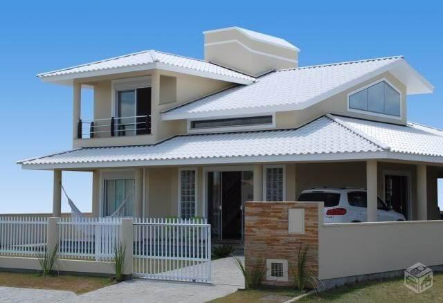 Telha esmaltada branca para casa clean e sofisticada