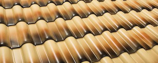 Telha esmaltada diferenciada para casas modernas