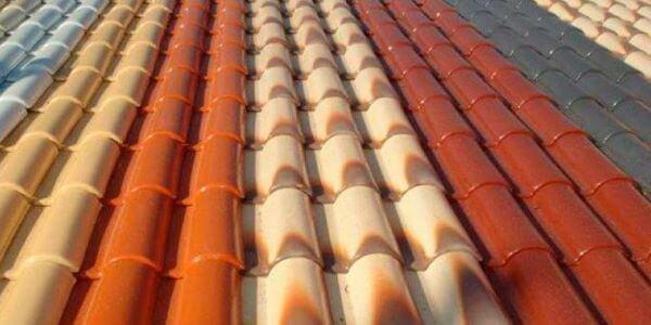 Escolha a telha esmaltada de diferentes cores para sua casa moderna