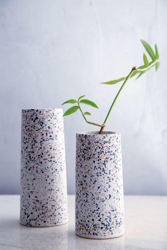 Vaso para decorar casa granilite