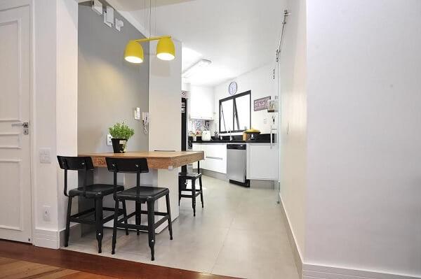 As cadeiras para cozinhas modernas apresentam um design diferenciado